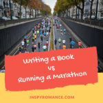 When Writing a Book is Like Running a Marathon + #Giveaway