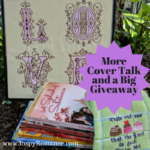 More Cover Talk and a Big #Giveaway