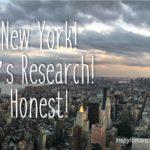 New York! It's Research! Honest!