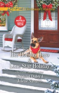 Her Holiday Hero (Margaret Daley) & Lone Star Holiday (Jolene Navarro) Oct
