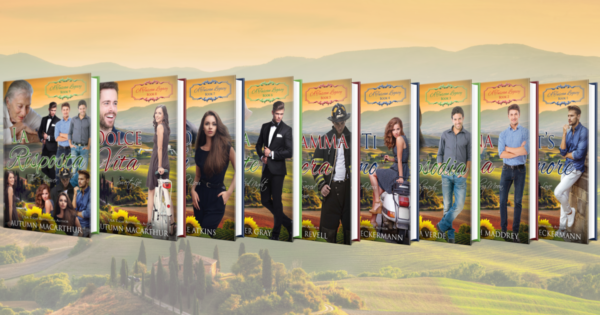 La Risposta, Dolce Vita, and the other books in A Tuscan Legacy, a 9-book multi-author Christian romance series