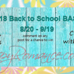 It's THAT Time – The Back-to-School Bash is BACK!!!