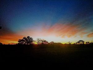 Texas Hill Country Sunrise