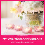 My One Year Anniversary with InspyRomance + #Giveaway