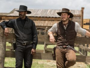 The Magnificent Seven Denzel Washington Chris Pratt