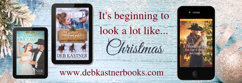 Christmas books from Deb Kastner