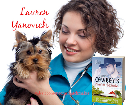 The Cowboy's Mixed-Up Matchmaker, Montana Ranches Christian Romance series, Valerie Comer