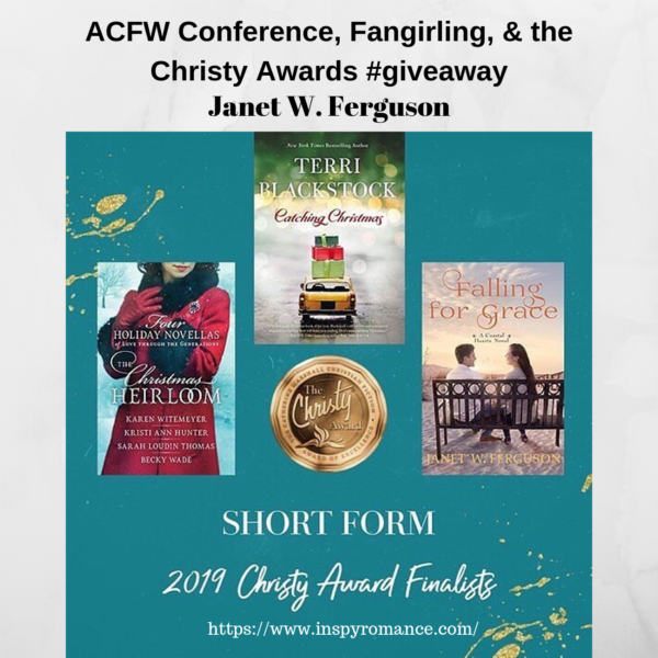 ACFW Conference, Fangirling, & the Christy Awards #giveaway