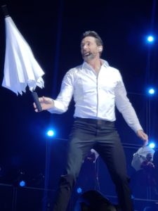 Jolene Navarro gets to Dance in the Rain with Hugh Jackman