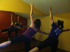 Yoga with Tracye and Katrina