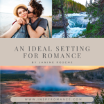 couple kissing, river, grand prismatic spring