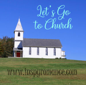 Image of church on hill